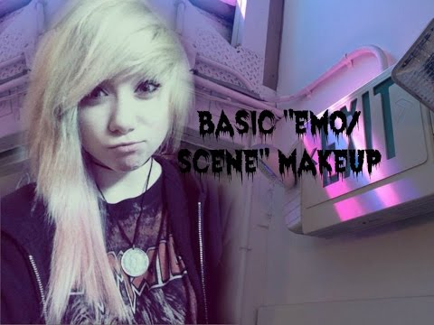 Basic emo/scene Makeup Tutorial