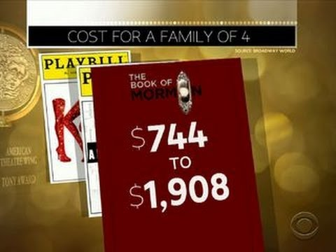 Why are Broadway tickets so expensive?