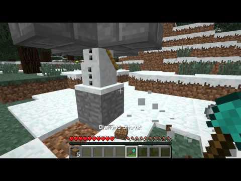 Minecraft [Tutorial] - How to Make a Simple Snow Farm