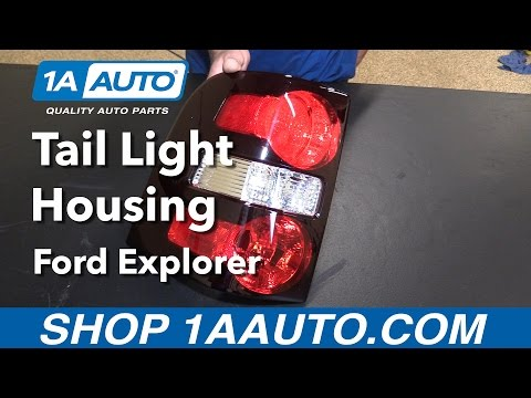 How to Replace Install Tail Light Housing 2006-10 Ford Explorer Buy Quality Parts from 1AAuto.com