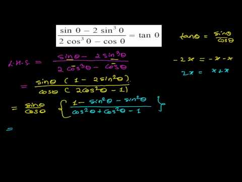 How to Solve Trigonometry Identity Proving Problems - Trig Math