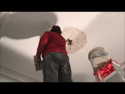 Renewing an Old Broken Ceiling Rose