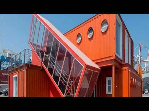 shipping container home florida - hgtv container homes - industrial chic container home