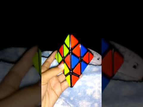 Checker board pattern pyramid