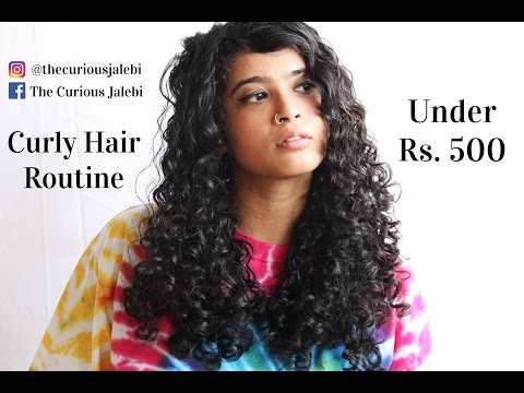 Pocket- Friendly Indian Curly Hair Routine Under Rs. 500