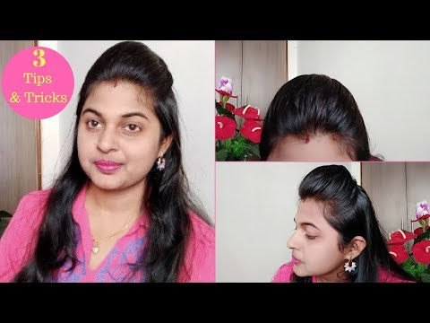 How To Make A Front Puff    3 Simple And Easy HairStyles    3 tips & Tricks To Make A puff