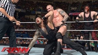 John Cena & Roman Reigns vs. Randy Orton & Kane: Raw, June 30, 2014