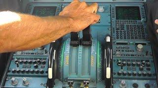 A320 Cockpit Action   Cyprus Airways LGAV-LCLK   Athens to Larnaca-CYP313   Cockpit Takeoff/Landing