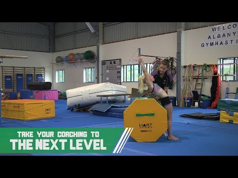 Gymnastics Coach Aids