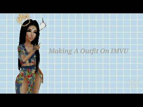 Making a outfit on imvu mobile