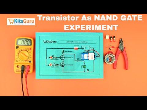 Transistor as NAND gate by Kitsguru.com | LGSK015