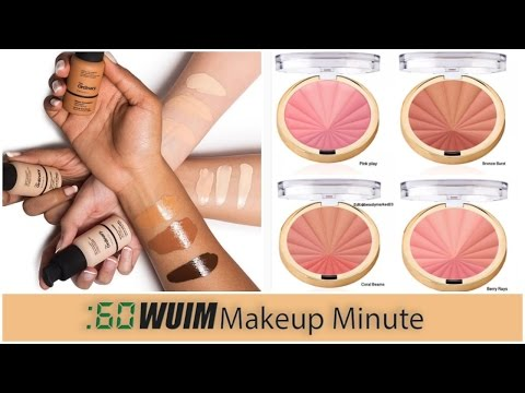 Makeup Minute | The Ordinary Foundation BACK IN STOCK + NEW Milani Color Harmony Blushes!