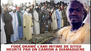 H£urté par un camion à Diamaguene : les voisins de Fodé Dramé en pleurs et racontent les faits