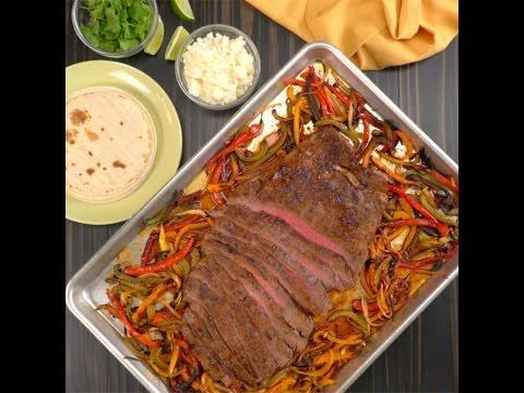 Sheet Pan Fajita Steak