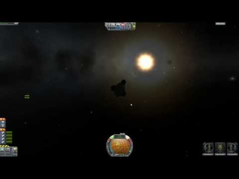 Sync orbit and rescue the pod. - Kerbal Space Program