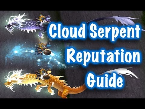 Jessiehealz - Cloud Serpent Riding Rep Guide (World of Warcraft)