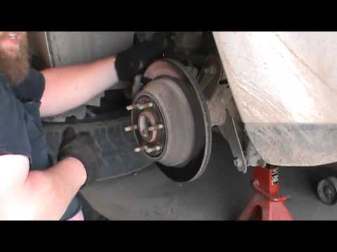 2002 Trail Blazer rear brake issues.
