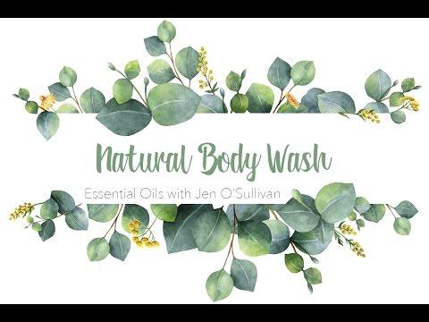 Natural Body Wash ~ DIY Essential Oils Make & Take Series ~