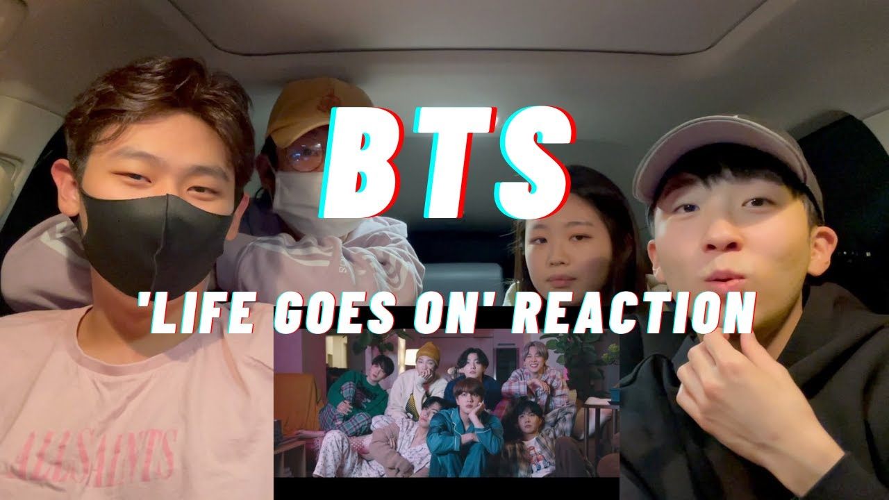 BTS (방탄소년단) 'Life Goes On'MV REACTION | 🥺🥺🥺