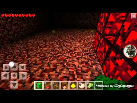 Minecraft PE 11.1 Nether a nasıl gidilir