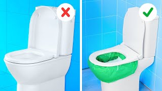 BEST RESTROOM TRICKS to keep your comfort at high level    Toilet crafts, cleaning ideas, soap