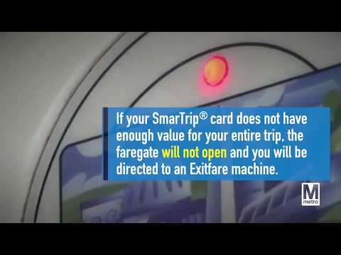 SmarTrip® cards will not permit negative balances