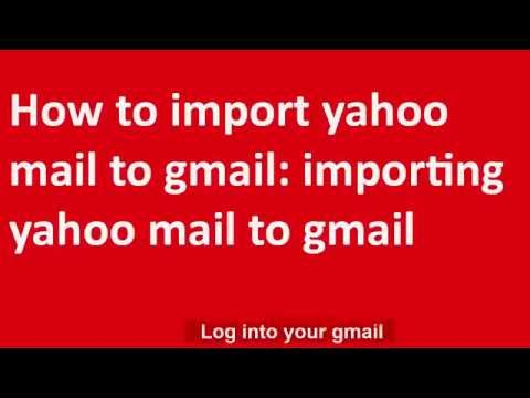 ✸✸✸How to import yahoo mail to gmail:  importing yahoo mail to gmail✸✸✸