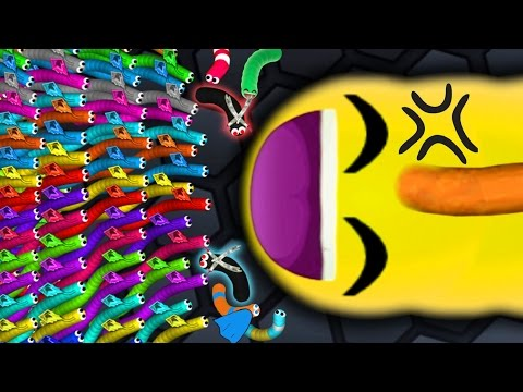 Slither.io - SNAKE TARGET vs. 500 SNAKES! // Epic Slitherio Gameplay! (Slitherio Funny Moments)