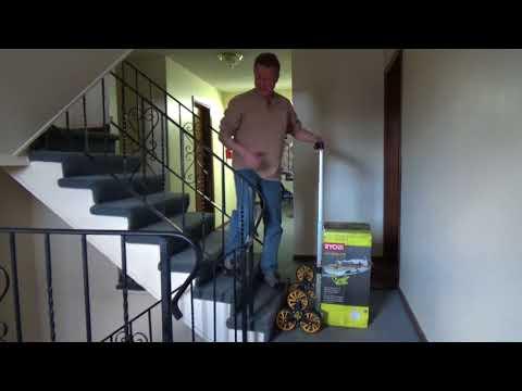 Stair Climbing Dolly - Heavy Duty Hand Truck
