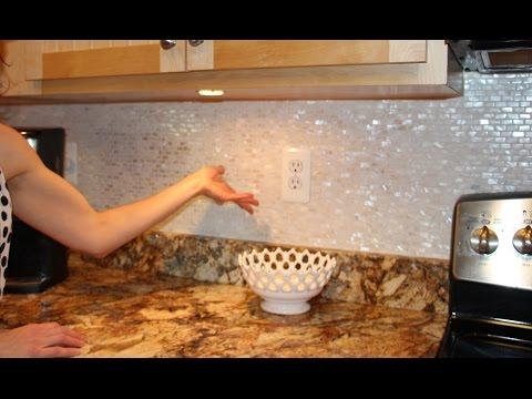 BACKSPLASH  DIY Shell Mother of Pearl Mesh  🌟