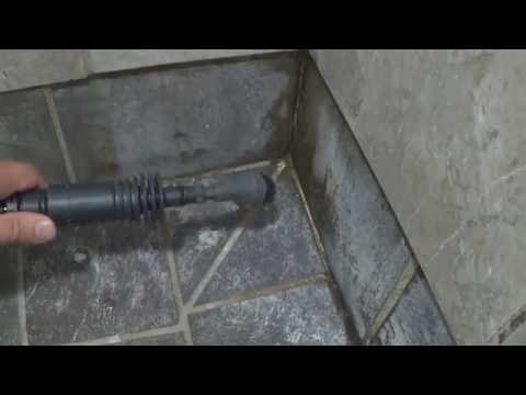 TUTORIAL STEAM CLEANING TILE FOR MOLD AND DISCOLORATION SHOWER