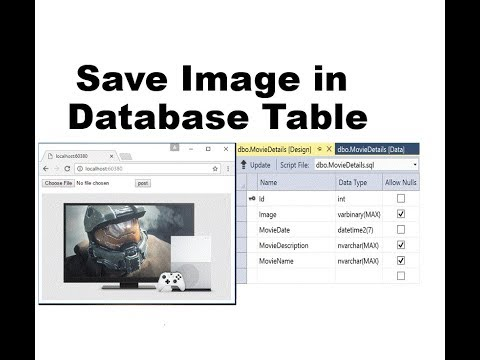 How to Save Image in Binary Format in DataBase in ASP.NET CORE