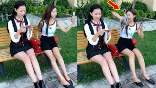 Best Funny Videos 2018 ● Cute girls doing funny things P7