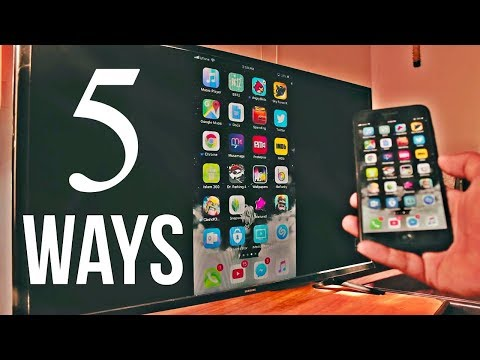 5 Ways to Screen Mirror iPhone to Samsung TV (No Apple TV Required)
