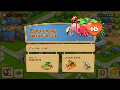 Township Level 51 - Level 10 of the zoo