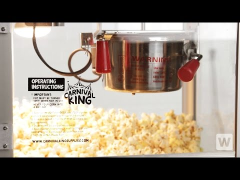 How to Make Popcorn in a Carnival King Popper