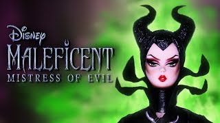 Custom Maleficent Art Doll 🐉 [ HALLOWEEN SPECIAL ]