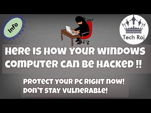 Here Is How Your Computer Can Be Hacked - A Small Demo