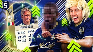THE FINAL COUNTDOWN! THE FINAL UPGRADES! F8TAL ICON PRIME HERNANDEZ #5 FIFA 18 ULTIMATE TEAM