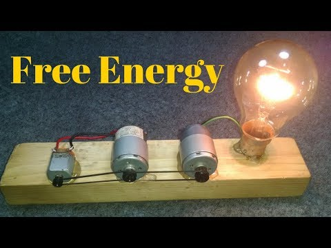 Free Energy Recycling 3 Motors Make A Free Electricity Generator 1000%working New Videos 2018