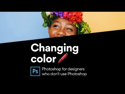 Photoshop: Select and change a color with Color Range