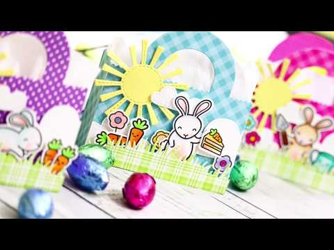 Easter Treat Bags with Lawn Fawn | Studio Monday with Nina Marie