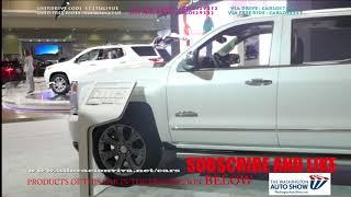 2019 Chevy Silverado Z71 2019 Dark Blue Washington Dc Auto Show 2018