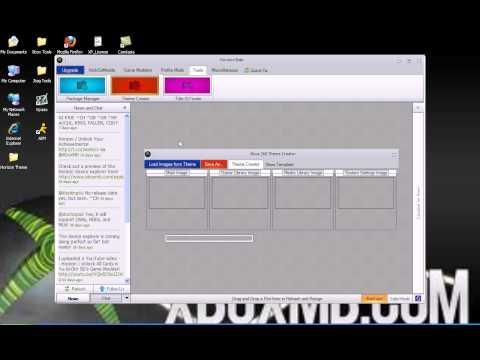 How to make a Custom Xbox 360 theme using Horizon