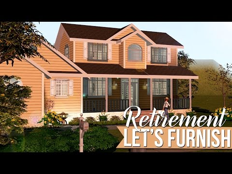 The Sims 2 | Let's Furnish - Current Household Retirement Home