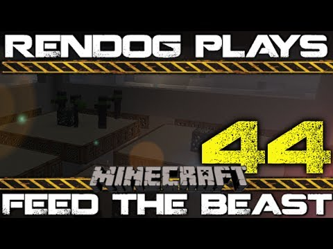 [S1E44] Let's Play Minecraft FTB - Mob Spawner Installations!