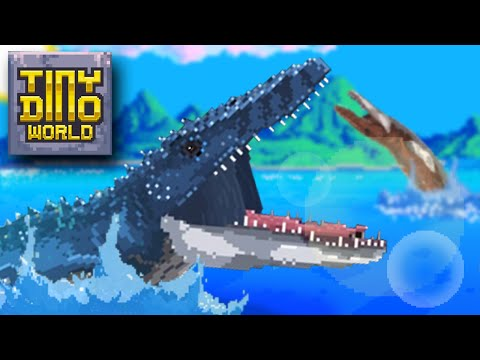 STRONGEST MAXED MOSASAUR!!! *6 STAR* - Tiny Dino World