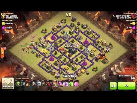 Shattered GoLaLoon. TH9 3 Star. Haste Spell. 2 Air Sweepers
