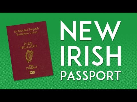 A New Irish Passport, Daily Vlog, September 18, 2015. NeenCrochet