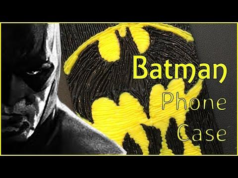Dripping Batman Logo | 3D Pen Art Phone Case | 3D Printing Pen